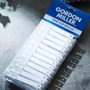 GORDON MILLER CLIP 24PCS SET ホワイト