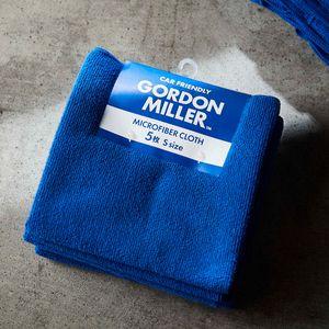 GORDON MILLER マイクロファイバークロスS 5枚 ブルー