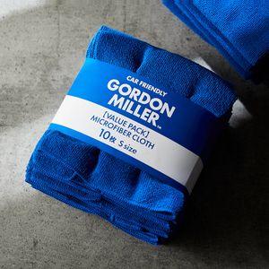 GORDON MILLER マイクロファイバークロスS 10枚 ブルー