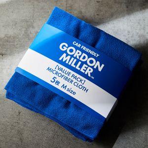 GORDON MILLER マイクロファイバークロスM 5枚 ブルー
