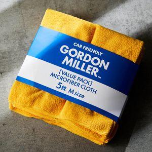 GORDON MILLER マイクロファイバークロスM 5枚 イエロー