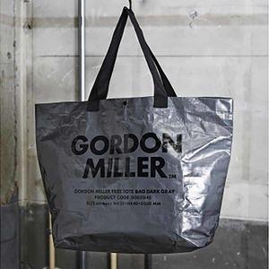 GORDON MILLER フリートートバッグ ダークグレー