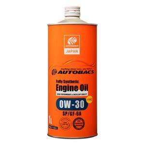 AUTOBACS エンジンオイル 0W30/SP/GF-6A/1L 全合成油