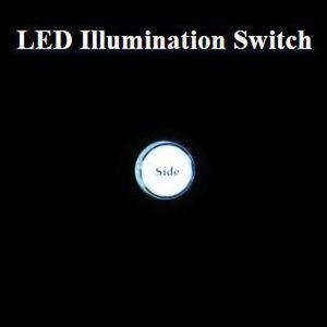 Junack LEDイルミネーションスイッチ ホワイト/LIS-1
