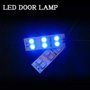 Junack LEDドアランプ ブルー DL-B
