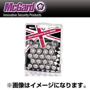 McGard ユニオンジャックロゴ付き ボルトインストレーションキット テーパー形状 クローム MCG-83859 M14×1.25 20個セット MINI純正スペック