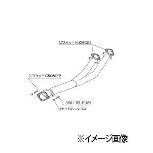 柿本改 フロントパイプ Standard NF307 ニッサン スカイライン GT-R ステージア