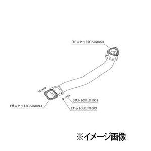 柿本改 フロントパイプ Standard NF343 ニッサン ステージア