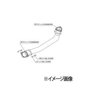 柿本改 フロントパイプ Standard NF353 ニッサン シルビア 180SX