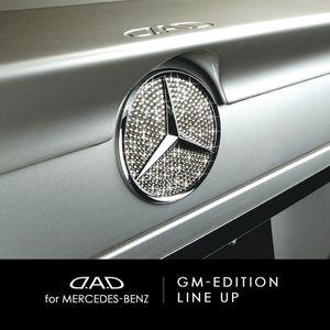 GARSON D.A.D ラグジュアリー クリスタル シンボル オーナメント エグゼクティブ エディション GK-112/クリスタル for メルセデスベンツ