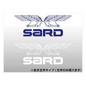SARD ステッカー(WING S) 60007 ホワイト