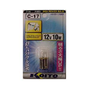 KOITO C-17 P8831 12V10W