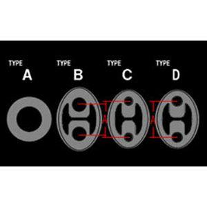 APEX マフラーハンガー タイプB 199-A002 スバル
