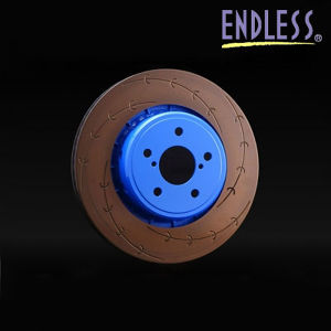ENDLESS ブレーキローター E-スリット フロント用/ニッサン キューブ・ティーダ・ノート・マーチ/ER141ES 片側1枚