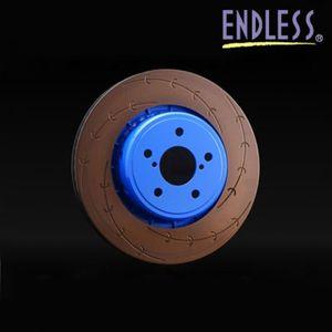 ENDLESS ブレーキローター E-スリット フロント用/トヨタ ヴィッツRS NCP91・NCP131/ER258ES 片側1枚