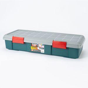レジャー用収納ボックス770F グレー/グリーン
