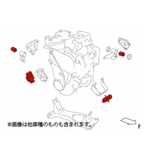 monster SPORT エンジンマウントセット 1台分 スズキ キャラ/マツダ AZ-1 647500-2900M