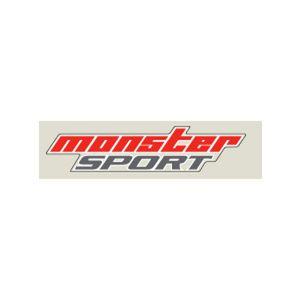 monster SPORT NEWmonster SPORTステッカー クリア×レッド×グレー 330mm 896112-0000M