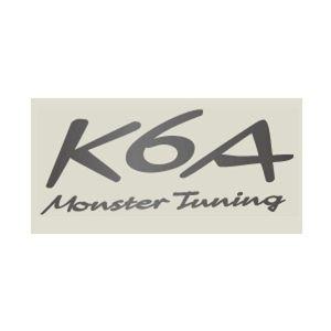 monster SPORT K6A Monster Tuning ステッカー ガンメタ(大) 896121-0000M