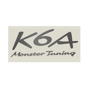 monster SPORT K6A Monster Tuning ステッカー ガンメタ(小) 896123-0000M