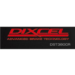 DIXCEL ステッカー レッド DST580CR