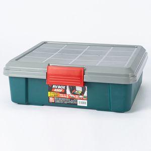 RV BOX 450F レジャー用収納ボックス グレー/グリーン