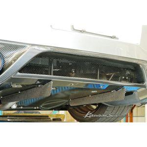 カーボンリアディフューザーフィン KAN080 ニッサン GT-R