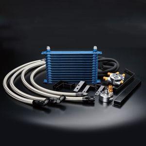 TRUST オイルクーラーキット オイルエレメント移動タイプ ニッサン スカイラインGT-R 12024428