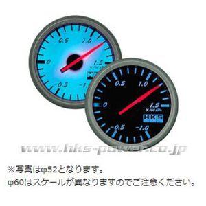 HKS ダイレクトブライトメーター 温度計 60パイ ホワイトパネル/ブラックスケール 44004-AK003