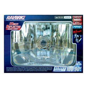 RAYBRIG 2輪マルチリフレクター ヘッドランプ 角 クリア FB05