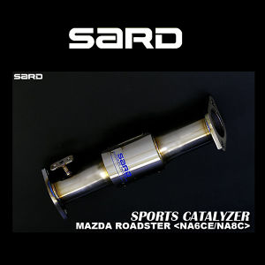 SARD スポーツキャタライザー 89114 マツダ ロードスター