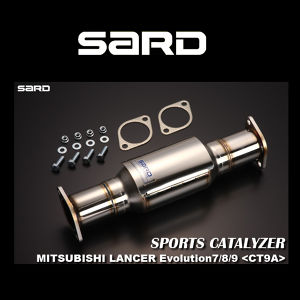 SARD スポーツキャタライザー 89054 ミツビシ ランサー エボリューション8/9