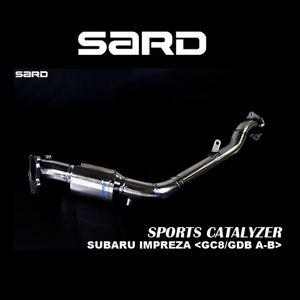 SARD スポーツキャタライザー 89042 スバル インプレッサ STI