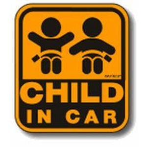 セーフテイサインマグネット CHILD IN CAR SF-33