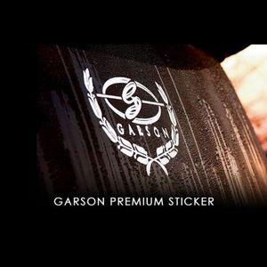 GARSON D.A.D GARSONプレミアムステッカー/Mサイズ