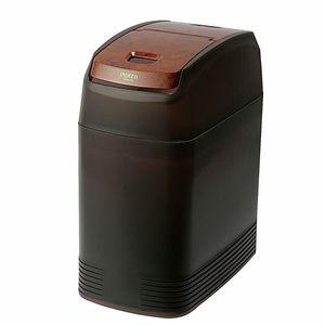 スリムゴミ箱おもり付き DE137 木目