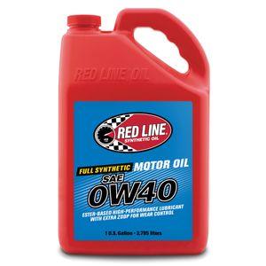 RED LINE エンジンオイル/0W40/SM/CF/1G(3.785L) 全合成油