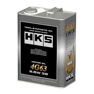 HKS SUPER OIL 4G63 5.5W38 4L 化学合成油