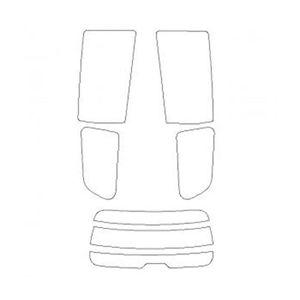 B010171 車種別カットフィルム ハードコーティング/スーパーブラック/トヨタ ウィッシュ