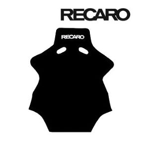 RECARO バックレストカバー ベロアブラック 7216970