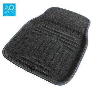 AQ 立体形状のインテリア用マット 軽自動車用カーマット グレー フロント用