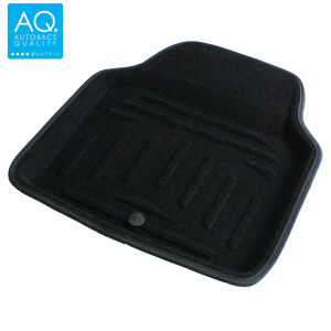 AQ 立体形状のインテリア用マット ブラック リア用(フロント兼用)