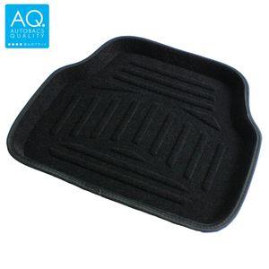 AQ 立体形状のインテリア用マット ブラック リア用