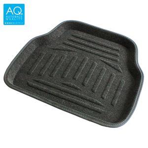 AQ 立体形状のインテリア用マット グレー リア用