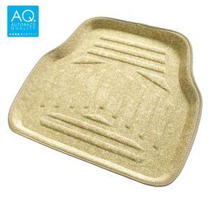 AQ 立体形状のインテリア用マット ベージュ リア用
