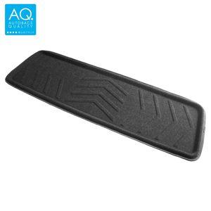 AQ 立体形状のインテリア用マット ロング(125) カーマット ブラック リア用ロング