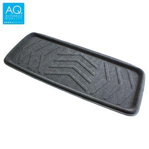 AQ 立体形状のインテリア用マット ロング(100) 軽自動車用カーマット グレー リア用ロング