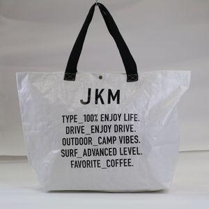 JKM フリートートバッグ ホワイト