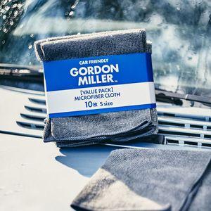 GORDON MILLER マイクロファイバークロス S グレー 10枚セット