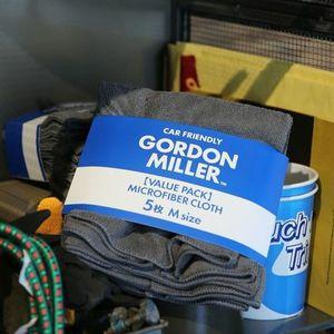 GORDON MILLER マイクロファイバークロス M グレー 5枚セット
